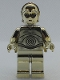 Minifig No: sw0158  Name: C-3PO - Chrome Gold (SW 30th Anniversary Edition)