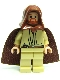 Minifig No: sw0172  Name: Qui-Gon Jinn (Light Flesh)