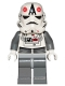 Minifig No: sw0177  Name: AT-AT Driver - Red Imperial Logo, Bluish Grays, Black Head, Stormtrooper Helmet