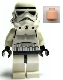 Minifig No: sw0188a  Name: Stormtrooper - Light Nougat Head, Dotted Mouth Pattern
