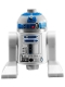 Minifig No: sw0217  Name: Astromech Droid, R2-D2, Light Bluish Gray Head