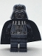 Minifig No: sw0218  Name: Darth Vader - Chrome Black