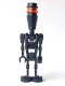 Minifig No: sw0222  Name: Assassin Droid Elite (Black)