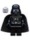 Minifig No: sw0277  Name: Darth Vader (White Pupils)