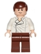 Minifig No: sw0278  Name: Han Solo, Reddish Brown Legs without Holster Pattern