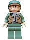 Minifig No: sw0367  Name: Endor Rebel Commando - Dark Tan Vest