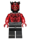 Minifig No: sw0384  Name: Darth Maul - Printed Red Arms