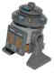 Minifig No: sw0390  Name: Astromech Droid, T7-O1