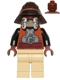 Minifig No: sw0398  Name: Lando Calrissian - Skiff Guard, Tan Hips