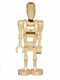 Minifig No: sw0415  Name: Battle Droid Commander with Straight Arm