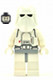 Minifig No: sw0428  Name: Snowtrooper, Light Bluish Gray Hips, White Hands, Printed Head