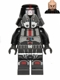 Minifig No: sw0443  Name: Sith Trooper - Black Outfit, Printed Legs