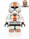 Minifig No: sw0444  Name: Republic Trooper (Cheek Lines)