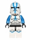 Minifig No: sw0445  Name: 501st Legion Clone Trooper