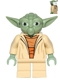 Minifig No: sw0446  Name: Yoda (Clone Wars, White Hair, Torso with Back Printing)