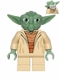 Minifig No: sw0446a  Name: Yoda (Clone Wars, Gray Hair, Torso with Back Printing)