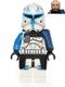 Minifig No: sw0450  Name: Captain Rex (Pauldron Cloth)