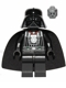 Minifig No: sw0464  Name: Darth Vader (Celebration)