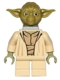 Minifig No: sw0471  Name: Yoda (Olive Green, Neck Bracket)