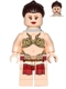 Minifig No: sw0485  Name: Princess Leia - Slave Outfit