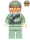 Minifig No: sw0511  Name: Rebel Commando with Beard and Angry Dual Sided Head