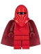 Minifig No: sw0521  Name: Royal Guard with Dark Red Arms and Hands