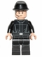 Minifig No: sw0545  Name: Imperial Crew, Black Jumpsuit, Cavalry Kepi