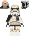 Minifig No: sw0548a  Name: Sandtrooper - Black Pauldron, Ammo Pouch, Dirt Stains, Survival Backpack