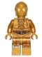 Minifig No: sw0561  Name: C-3PO - Printed Legs (Robot Limiter/Restraining Bolt)