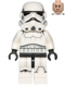 Minifig No: sw0585  Name: Stormtrooper (Printed Legs, Dark Blue Helmet Vents)