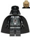 Minifig No: sw0586  Name: Darth Vader (Tan Head)