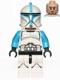 Minifig No: sw0629  Name: Clone Trooper Lieutenant, Printed Legs