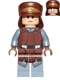 Minifig No: sw0638  Name: Naboo Security Officer - Light Nougat Head