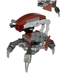 Minifig No: sw0642  Name: Droideka - Destroyer Droid (Reddish Brown Triangles without Stickers)