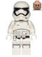 Minifig No: sw0667  Name: First Order Stormtrooper (Rounded Mouth Pattern)