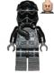 Minifig No: sw0672  Name: First Order TIE Fighter Pilot, Two White Lines on Helmet