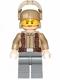 Minifig No: sw0697  Name: Resistance Trooper - Dark Tan Jacket, Frown, Furrowed Eyebrows