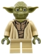Minifig No: sw0707  Name: Yoda (Olive Green)
