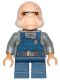 Minifig No: sw0710  Name: Ugnaught (Dark Blue Overalls)