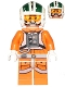 Minifig No: sw0730  Name: Wedge Antilles - Printed Legs