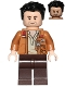 Minifig No: sw0737  Name: Poe Dameron (Medium Nougat Jacket)