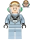 Minifig No: sw0743  Name: Rebel Pilot A-wing (Open Helmet, Sand Blue Jumpsuit, Female)