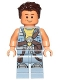 Minifig No: sw0754  Name: Zander - Sand Blue Jacket
