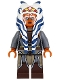 Minifig No: sw0759  Name: Ahsoka Tano (Adult) - Tunic with Armor and Belt