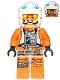 Minifig No: sw0761  Name: Rebel Pilot - Zin Evalon
