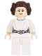 Minifig No: sw0779  Name: Princess Leia (White Dress, Detailed Belt)