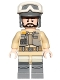 Minifig No: sw0803  Name: Rebel Trooper, Goggles, Gray Helmet, Black Beard (Private Kappehl)