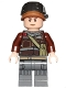 Minifig No: sw0805  Name: Rebel Trooper - Light Nougat Head, Helmet with Pearl Dark Gray Band (Private Calfor)