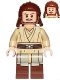 Minifig No: sw0810  Name: Qui-Gon Jinn, without Cape