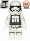 Minifig No: sw0842  Name: First Order Heavy Assault Stormtrooper (Rounded Mouth Pattern) - Backpack